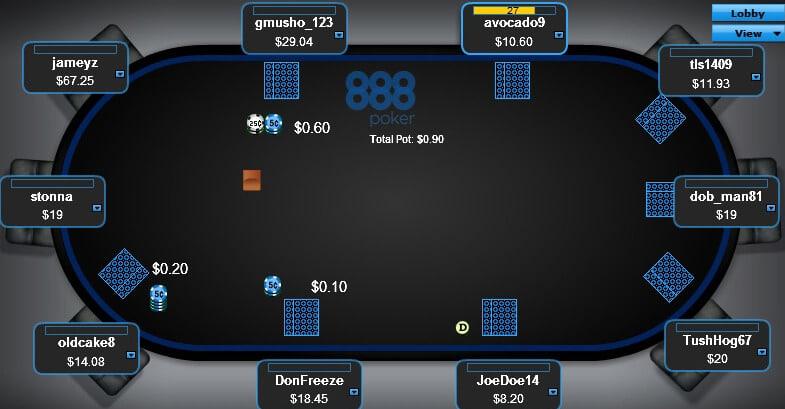 турниры на 888