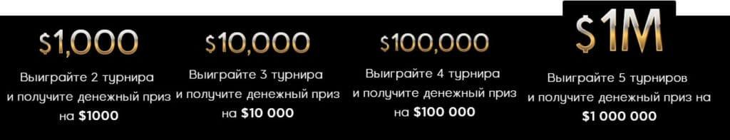 Призовой фонд XL Blizzard 888покер