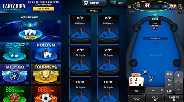обновление 888покер